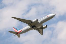 赤ちんさんが、成田国際空港で撮影したアメリカン航空 777-223/ERの航空フォト(飛行機 写真・画像)