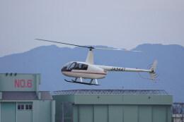 pringlesさんが、熊本空港で撮影した日本法人所有 R44 IIの航空フォト(飛行機 写真・画像)