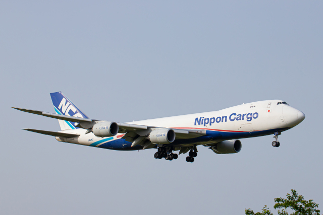 SGR RT 改さんが、成田国際空港で撮影した日本貨物航空 747-8KZF/SCDの航空フォト(飛行機 写真・画像)