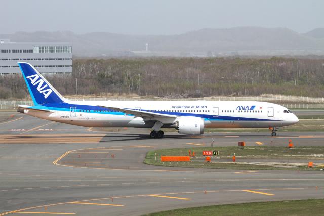 M.Chihara_1さんが、新千歳空港で撮影した全日空 787-9の航空フォト(飛行機 写真・画像)