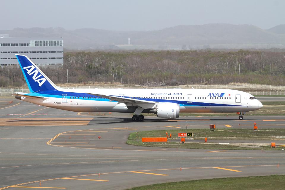 M.Chihara_1さんの全日空 Boeing 787-9 (JA830A) 航空フォト