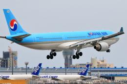 おっしーさんが、成田国際空港で撮影した大韓航空 A330-323Xの航空フォト(飛行機 写真・画像)