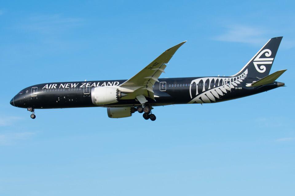 Astechnoさんのニュージーランド航空 Boeing 787-9 (ZK-NZE) 航空フォト