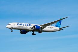Astechnoさんが、成田国際空港で撮影したユナイテッド航空 787-9の航空フォト(飛行機 写真・画像)