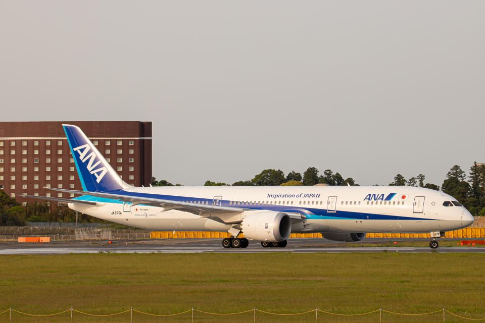 SGR RT 改さんの全日空 Boeing 787-9 (JA879A) 航空フォト