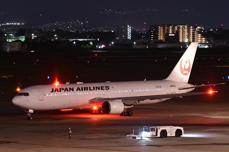 TOPAZ102さんの日本航空 Boeing 767-300 (JA612J) 航空フォト