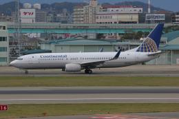 tsubameさんが、福岡空港で撮影したコンチネンタル航空 737-824の航空フォト(飛行機 写真・画像)