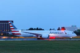SGR RT 改さんが、成田国際空港で撮影したアメリカン航空 787-9の航空フォト(飛行機 写真・画像)