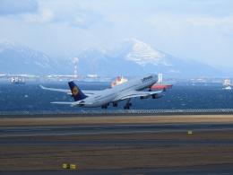musaeru25cさんが、中部国際空港で撮影したルフトハンザドイツ航空 A340-313Xの航空フォト(飛行機 写真・画像)