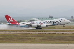 安芸あすかさんが、小松空港で撮影したカーゴルクス 747-8R7F/SCDの航空フォト(飛行機 写真・画像)