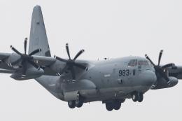 KANTO61さんが、厚木飛行場で撮影したアメリカ海兵隊 KC-130J Herculesの航空フォト(飛行機 写真・画像)