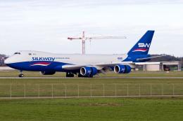 chrisshoさんが、シュトゥットガルト空港で撮影したシルクウェイ・ウェスト・エアラインズ 747-83QFの航空フォト(飛行機 写真・画像)