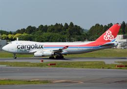 NINEJETSさんが、成田国際空港で撮影したカーゴルクス・イタリア 747-4R7F/SCDの航空フォト(飛行機 写真・画像)