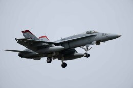 Takeshi90ssさんが、厚木飛行場で撮影したアメリカ海兵隊 F/A-18C Hornetの航空フォト(飛行機 写真・画像)