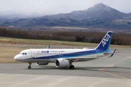 磐城さんが、中標津空港で撮影した全日空 A320-271Nの航空フォト(飛行機 写真・画像)