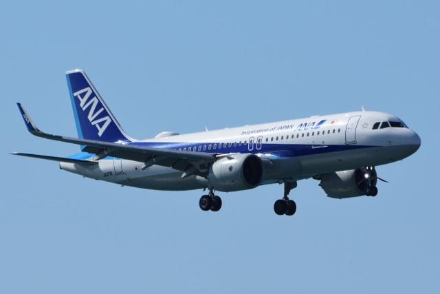 gullfisk198さんが、高知空港で撮影した全日空 A320-271Nの航空フォト(飛行機 写真・画像)