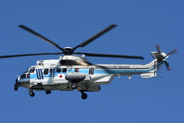gullfisk198さんが、高知空港で撮影した海上保安庁 EC225LP Super Puma Mk2+の航空フォト(飛行機 写真・画像)