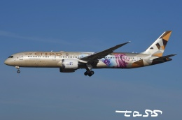 tassさんが、成田国際空港で撮影したエティハド航空 787-9の航空フォト(飛行機 写真・画像)