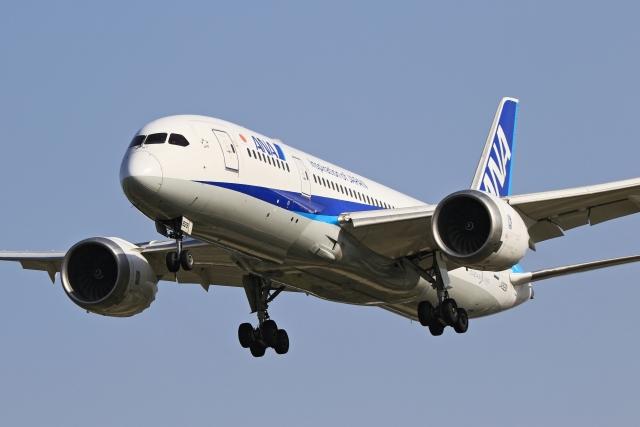 anyongさんが、福岡空港で撮影した全日空 787-8 Dreamlinerの航空フォト(飛行機 写真・画像)