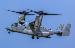 rokko2000さんが、岩国空港で撮影したアメリカ海兵隊 MV-22Bの航空フォト(飛行機 写真・画像)