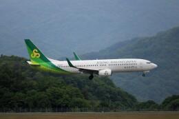 ヒロジーさんが、広島空港で撮影した春秋航空日本 737-86Nの航空フォト(飛行機 写真・画像)