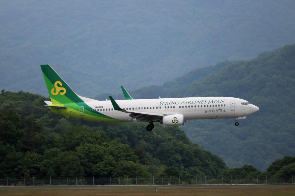 ヒロジーさんの春秋航空日本 Boeing 737-800 (JA03GR) 航空フォト