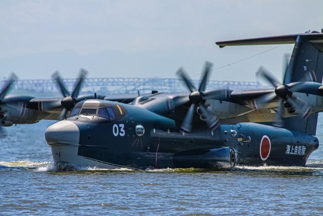 rokko2000さんが、阪神基地で撮影した海上自衛隊 US-2の航空フォト(飛行機 写真・画像)
