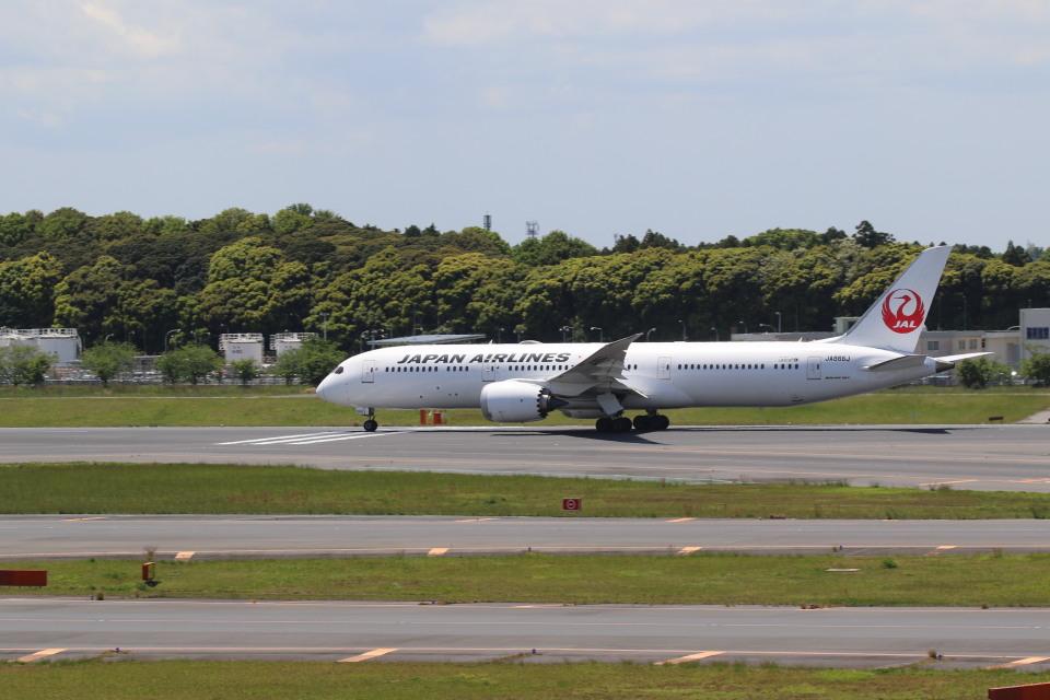 airdrugさんの日本航空 Boeing 787-9 (JA866J) 航空フォト