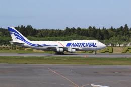 airdrugさんが、成田国際空港で撮影したナショナル・エアラインズ 747-412(BCF)の航空フォト(飛行機 写真・画像)