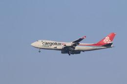 airdrugさんが、成田国際空港で撮影したカーゴルクス・イタリア 747-4R7F/SCDの航空フォト(飛行機 写真・画像)