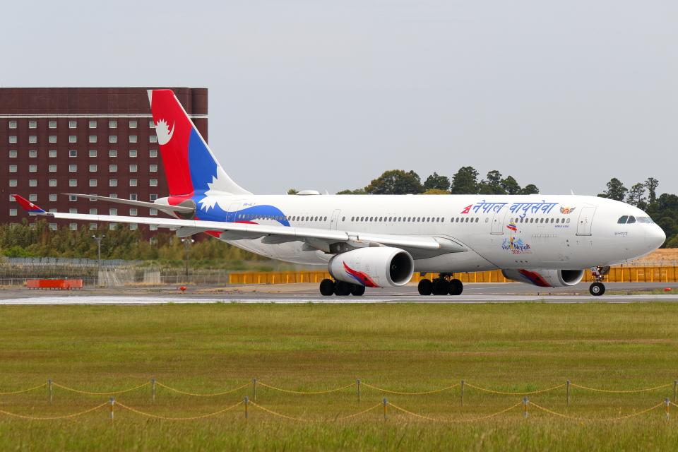 こだしさんのネパール航空 Airbus A330-200 (9N-ALY) 航空フォト