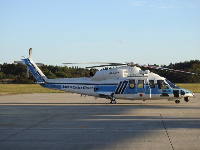 musaeru25cさんが、能登空港で撮影した海上保安庁 S-76Dの航空フォト(飛行機 写真・画像)
