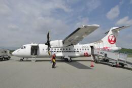 KKiSMさんが、但馬空港で撮影した日本エアコミューター ATR-42-600の航空フォト(飛行機 写真・画像)