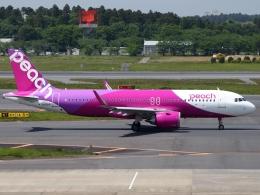 FT51ANさんが、成田国際空港で撮影したピーチ A320-251Nの航空フォト(飛行機 写真・画像)