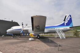 KKiSMさんが、但馬空港で撮影したエアーニッポン YS-11A-500Rの航空フォト(飛行機 写真・画像)