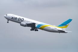sakaki787さんが、羽田空港で撮影したAIR DO 767-381/ERの航空フォト(飛行機 写真・画像)