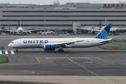 sakaki787さんが、羽田空港で撮影したユナイテッド航空 787-9の航空フォト(飛行機 写真・画像)