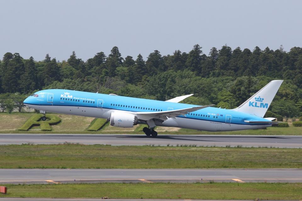 宮崎 育男さんのKLMオランダ航空 Boeing 787-9 (PH-BHH) 航空フォト