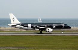 動物村猫君さんが、大分空港で撮影したスターフライヤー A320-214の航空フォト(飛行機 写真・画像)