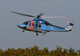 雲霧さんが、成田国際空港で撮影した千葉県警察 AW139の航空フォト(飛行機 写真・画像)
