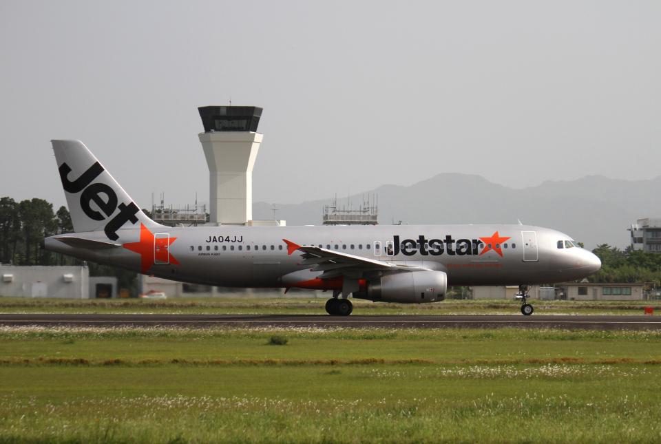 navipro787さんのジェットスター・ジャパン Airbus A320 (JA04JJ) 航空フォト