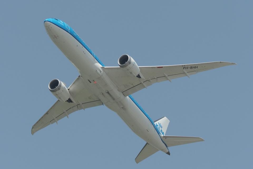 木人さんのKLMオランダ航空 Boeing 787-9 (PH-BHH) 航空フォト