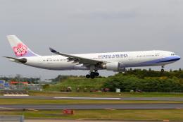 こだしさんが、成田国際空港で撮影したチャイナエアライン A330-302の航空フォト(飛行機 写真・画像)