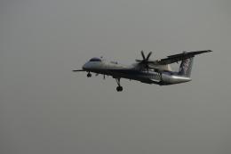 ひめままさんが、宮崎空港で撮影したANAウイングス DHC-8-402Q Dash 8の航空フォト(飛行機 写真・画像)