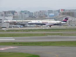 チャンギーVさんが、福岡空港で撮影したアイベックスエアラインズ CL-600-2C10 Regional Jet CRJ-702ERの航空フォト(飛行機 写真・画像)