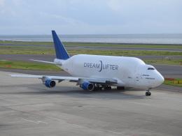 musaeru25cさんが、中部国際空港で撮影したボーイング 747-4H6(LCF) Dreamlifterの航空フォト(飛行機 写真・画像)