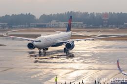 遠森一郎さんが、成田国際空港で撮影したデルタ航空 A330-941の航空フォト(飛行機 写真・画像)