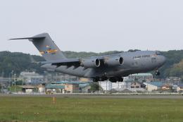 たまさんが、横田基地で撮影したアメリカ空軍 C-17A Globemaster IIIの航空フォト(飛行機 写真・画像)