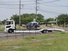 F.YUKIHIDEさんが、岡南飛行場で撮影した日本個人所有 R22 Betaの航空フォト(飛行機 写真・画像)