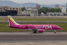 canon_leopardさんが、名古屋飛行場で撮影したフジドリームエアラインズ ERJ-170-200 (ERJ-175STD)の航空フォト(飛行機 写真・画像)